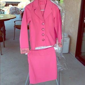 Hot Pink Girls Custom Suit